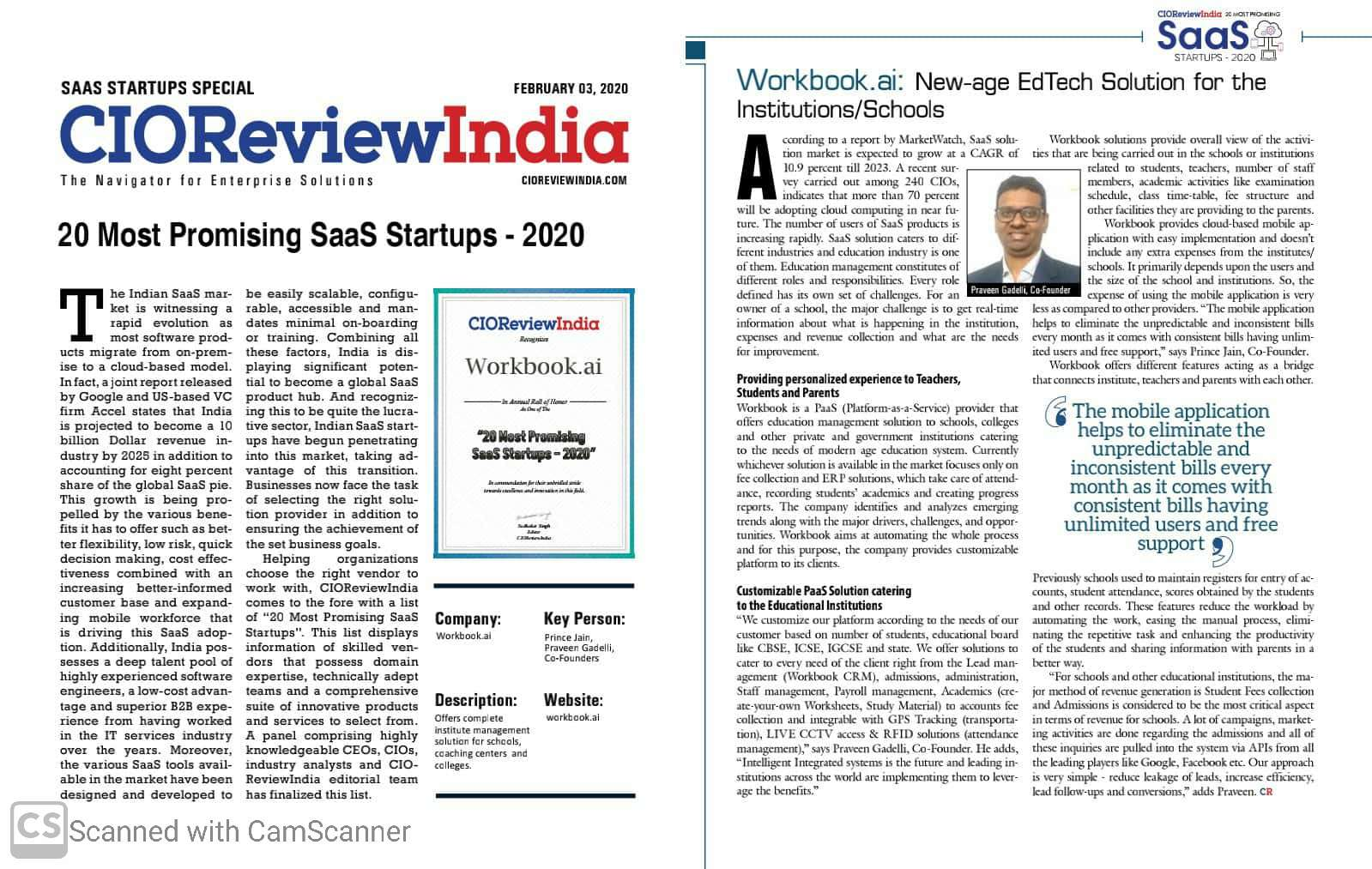Article in CIO Review