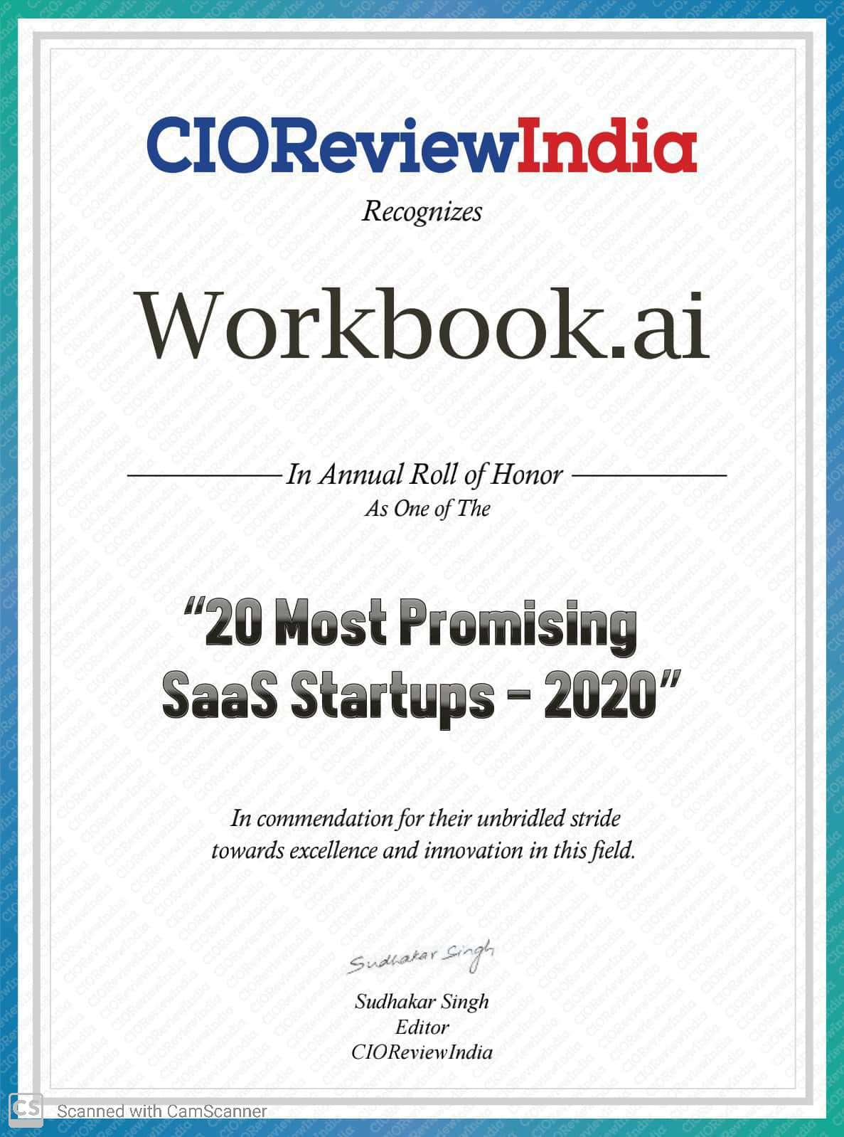20 Most promising SAAS Startups 2020